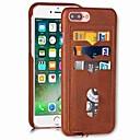 رخيصةأون أغطية أيفون-غطاء من أجل Apple iPhone XS / iPhone XR / iPhone XS Max حامل البطاقات غطاء خلفي لون سادة قاسي جلد PU