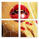 voordelige Galaxy J7 Hoesjes / covers-Spiegels Vormen 3D Muurstickers 3D Muurstickers Spiegel muurstickers Decoratieve Muurstickers, Acryl Huisdecoratie Muursticker Wand Glas