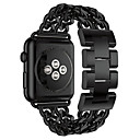 ieftine Becuri De Mașină LED-Uita-Band pentru Apple Watch Series 5/4/3/2/1 Apple Butterfly Cataramă Oțel inoxidabil Curea de Încheietură