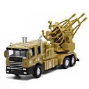 ieftine Breloc-Jucării pentru mașini Model Mașină Vehicul Militar Rezervor Car de Război Muzică și lumină Unisex Jucarii Cadou