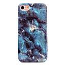 رخيصةأون أغطية أيفون-غطاء من أجل Apple iPhone 7 Plus / iPhone 7 / iPhone 6s Plus نموذج غطاء خلفي حجر كريم ناعم TPU