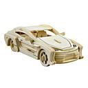 رخيصةأون 3D الألغاز-لعبة سيارات قطع تركيب3D تركيب سيارة حصان اصنع بنفسك محاكاة خشب للجنسين ألعاب هدية