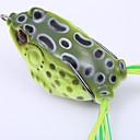 ieftine Momeală Pescuit-1 pcs Δόλωμα Broască Plutire Bass Păstrăv Ştiucă Aruncare Momeală Plastice