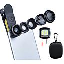 Apexel Deluxe Universal 5 1 Camera Lens Kit iPhone 7 6/6s 6Plus/6s Plus Samsung Galaxy S7/S7 EdgeS6/S6 Edge Note 5 4-Fisheye Lens