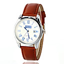 cheap Women's Watches-Women's Fashion Watch Quartz Leather Brown 30 m Analog White Blue