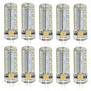 رخيصةأون ديكورات خشب-10pcs 3 W أضواء LED Bi Pin 180 lm G4 T 81 الخرز LED SMD 3014 أبيض دافئ أبيض كول 85-265 V / 10 قطع