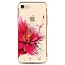 povoljno iPhone maske-Θήκη Za Apple iPhone XS / iPhone XR / iPhone XS Max Prozirno / Uzorak Stražnja maska Cvijet Mekano TPU
