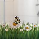 رخيصةأون الستائر-فيلم نافذة وملصقات زخرفة حيوانات طباعة PVC / Vinyl ملصق النافذة / غرفة المعيشة
