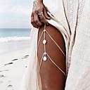 ieftine Îngrijire Unghii-Pentru femei Bijuterii de corp Corp lanț / burtă lanț / Lănțișor Picior / picioare bijuterii Auriu / Argintiu neregulat Modă Aliaj Costum de bijuterii Pentru Concediu / Party & Seară Vară