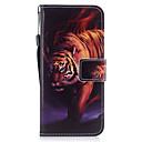 رخيصةأون حافظات / جرابات هواتف جالكسي J-غطاء من أجل Samsung Galaxy S8 Plus / S8 / S7 edge محفظة / حامل البطاقات / مع حامل غطاء كامل للجسم حيوان قاسي جلد PU