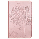 cheap Bakeware-Case For Samsung Galaxy / Tab A 8.0 / Tab A 9.7 Tab E 9.6 / Tab A 7.0 / Tab A 10.1 (2016) Wallet / Card Holder / with Stand Full Body Cases Cat / Butterfly / Tree Hard PU Leather / Auto Sleep / Wake