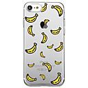 voordelige iPhone SE/5s/5c/5 screenprotectors-hoesje Voor iPhone 7 / iPhone 7 Plus / iPhone 6s Plus iPhone SE / 5s Transparant / Patroon Achterkant Cartoon / Fruit Zacht TPU