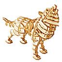 ieftine Unelte Camping-Puzzle 3D Puzzle Modele de Lemn Animale Reparații De lemn Lemn natural Pentru copii Unisex Jucarii Cadou