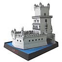 voordelige iPhone 6 hoesjes-3D-puzzels Bouwplaat Toren Beroemd gebouw DHZ Hard Kaart Paper Kinderen Unisex Speeltjes Geschenk