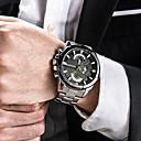 ieftine Accesorii PS3-Bărbați Ceas de Mână Japoneză Oțel inoxidabil Negru / Argint / Auriu 30 m Rezistent la Apă Calendar Creative Analog femei Charm Lux Clasic Casual - Argintiu Negru / Roșu Negru / Alb