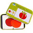 ieftine Instrumente Scris & Desen-Carduri Educaționale Puzzle Jucării Educaționale Fruct Fier Pentru copii Jucarii Cadou