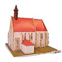 رخيصةأون 3D الألغاز-قطع تركيب3D أشغال الورق طاحونة هوائية بناء مشهور بيت اصنع بنفسك ورق صلب كلاسيكي للأطفال للجنسين للصبيان ألعاب هدية
