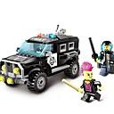 povoljno HDMI kablovi-ENLIGHTEN Igračke auti Kocke za slaganje Građevinski set igračke Automobil Policajci kompatibilan Legoing Policijski auto Uniseks Dječaci Djevojčice Igračke za kućne ljubimce Poklon / Poučna igračka