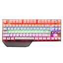 رخيصةأون لوحات المفاتيح-SADES Tianjing USB سلكي لوحة المفاتيح الميكانيكية لوحة مفاتيح الألعاب قابل للبرمجة مضيء RGB الخلفية 87 pcs مفاتيح