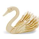 povoljno Fleksibilne LED svjetlosne trake-3D puzzle Puzzle Drveni modeli Dinosaur Letjelica Labud Uradi sam drven Klasik Dječji Odrasli Uniseks Dječaci Djevojčice Igračke za kućne ljubimce Poklon