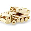 رخيصةأون 3D الألغاز-قطع تركيب3D تركيب النماذج الخشبية ديناصور دبابة طيارة اصنع بنفسك خشبي كلاسيكي للجنسين ألعاب هدية