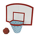 رخيصةأون حافظات / جرابات هواتف جالكسي S-قطع تركيب3D كرات نموذج الورق كرة السلة اصنع بنفسك كلاسيكي للأطفال للجنسين ألعاب هدية