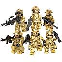 رخيصةأون البناء و المكعبات-DILONG أحجار البناء كتل عسكرية شخصيات صغيرة 20-480 pcs العسكرية جندي الحرب الثانية متوافق Legoing ألعاب هدية / ألعاب تربوية