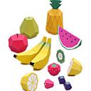 voordelige Galaxy J3(2017) Hoesjes / covers-3D-puzzels Bouwplaat Modelbouwsets Fruit DHZ Simulatie Hard Kaart Paper Klassiek Cartoon Kinderen Unisex Speeltjes Geschenk
