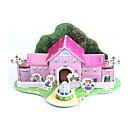 povoljno Fleksibilne LED svjetlosne trake-3D puzzle Puzzle Papirnata maketa Kuća Uradi sam Papir visoke kvalitete Klasik Dječji Uniseks Dječaci Djevojčice Igračke za kućne ljubimce Poklon