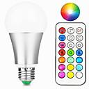 ieftine Îngrijire Unghii-1 buc 10 W Bulbi LED Inteligenți 800 lm E26 / E27 A60(A19) 1 LED-uri de margele LED Integrat Intensitate Luminoasă Reglabilă Telecomandă Decorativ RGBW RGBWW 85-265 V / 1 bc / RoHs