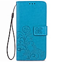 Case Xiaomi Xiaomi Redmi 4X Wallet / Card Holder / Stand Full Body Cases Solid Colored Hard PU Leather