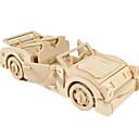 رخيصةأون ألعاب التركيب-لعبة سيارات قطع تركيب3D تركيب طيارة سيارة اصنع بنفسك خشبي كلاسيكي للجنسين للصبيان ألعاب هدية / النماذج الخشبية