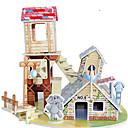 رخيصةأون مفروشات التخييم-قطع تركيب3D تركيب مجموعات البناء بناء مشهور بيت اصنع بنفسك ورق صلب كلاسيكي أنيمي كرتون للأطفال للجنسين ألعاب هدية