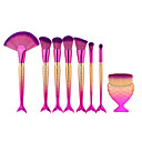povoljno Broševi-profesionalac Četke za šminku Četka Setovi 8pcs Synthetic Hair / Umjetna vlakna četkice Kistovi za šminku za