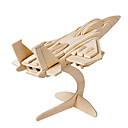 povoljno 3D zagonetke-Muwanzi 3D puzzle Puzzle Drveni modeli Letjelica Borac Poznata zgrada Uradi sam drven Klasik Uniseks Igračke za kućne ljubimce Poklon