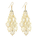 cheap Earrings-Women's Drop Earrings Hollow Out filigree Leaf Ladies Dangling Vintage Bohemian Simple Style Fashion Silver Plated Gold Plated Earrings Jewelry Gold / Silver For Christmas Gifts Wedding Party Special