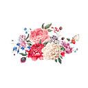 رخيصةأون ملصقات ديكور-لواصق حائط مزخرفة - لواصق حائط الطائرة المزين بالأزهار / الأزهار / النباتية غرفة الجلوس / غرفة النوم / دورة المياه