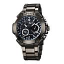 رخيصةأون أدوات الحمام-ASJ رجالي ساعة قلادة مراقبة الطيران كوارتز أسود 30 m مقاوم للماء طرد كبير مماثل كاجوال ساعة عالمية - أبيض أحمر أزرق سنتان عمر البطارية / Maxell SR626SW + SEIKO CR2025