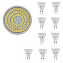 ieftine Alte lumini LED-10pcs 5 W Spoturi LED 400 lm GU10 GU5.3 E26 / E27 80 LED-uri de margele SMD 2835 Decorativ Alb Cald Alb Rece 220-240 V / 10 bc / RoHs
