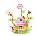 رخيصةأون مفروشات التخييم-قطع تركيب3D تركيب مجموعات البناء بناء مشهور بيت اصنع بنفسك ورق صلب كلاسيكي أنيمي كرتون للأطفال للجنسين للصبيان للفتيات ألعاب هدية