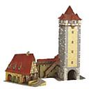 povoljno Druge maskice-3D puzzle Umijeće papira Dvorac Toranj Vjetrenjača Uradi sam Tvrda kartica papira Klasik Dječji Uniseks Dječaci Igračke za kućne ljubimce Poklon