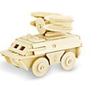 رخيصةأون أغطية أيفون-قطع تركيب3D تركيب النماذج الخشبية ديناصور دبابة طيارة اصنع بنفسك خشبي كلاسيكي للجنسين ألعاب هدية