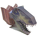 voordelige iPhone 5 hoesjes-3D-puzzels Bouwplaat Modelbouwsets Tyrannosaurus Dinosaurus DHZ Simulatie Klassiek Kinderen Unisex Jongens Speeltjes Geschenk