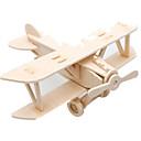 رخيصةأون 3D الألغاز-Muwanzi قطع تركيب3D تركيب النماذج الخشبية طيارة المقاتل بناء مشهور اصنع بنفسك خشبي كلاسيكي للجنسين ألعاب هدية
