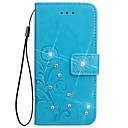 Case Xiaomi / Xiaomi Redmi 2 Xiaomi Redmi Note 4 / Xiaomi Redmi Note 3 / Xiaomi Redmi Note 2 Wallet / Card Holder / Rhinestone Full Body Cases Solid Colored Hard PU Leather / Xiaomi Redmi 4A