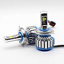رخيصةأون المصابيح الأمامية للسيارات-SO.K H4 سيارة لمبات الضوء 35 W LED أداء عالي 7000 lm مصباح الرأس