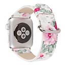 voordelige Galaxy S-serie hoesjes / covers-Horlogeband voor Apple Watch Series 5/4/3/2/1 Apple Klassieke gesp Echt leer Polsband