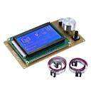 voordelige Auto DVR's-12864 lcd smart display scherm controller module met kabel voor hellingen 1.4 arduino mega pololu schild arduino reprap 3d printer kit