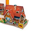 رخيصةأون حالات / أغطية ون بلس-قطع تركيب3D تركيب نموذج الورق بناء مشهور بيت اصنع بنفسك ورق صلب للأطفال للجنسين ألعاب هدية