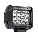 povoljno USB memorije-4pcs 36w 3600lm 6000k 3 redaka vodio radno svjetlo cool white spot offroad pogonsko svjetlo za auto / brod / prednja svjetla ip68 9-32v dc